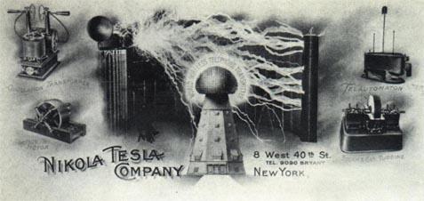 Nikola Tesla Page